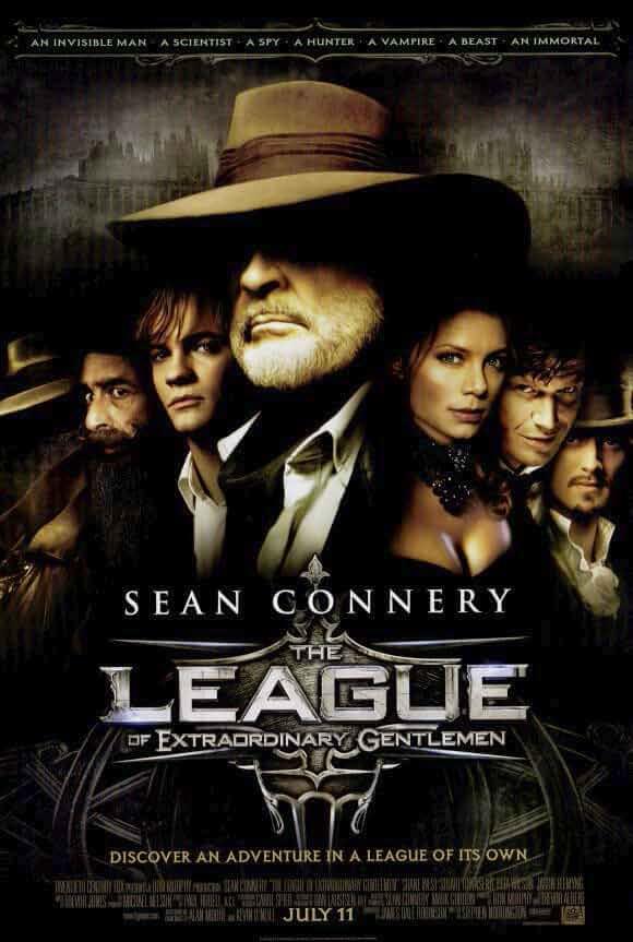 The League Of Extraordinary Gentlemen 2003 Hindi Dual Audio 720p BRRip