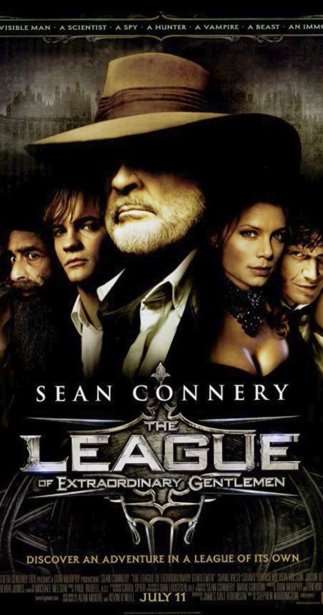 The League of Extraordinary Gentlemen 2003 BRRip