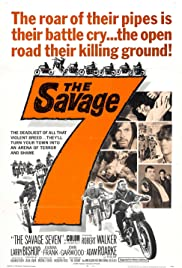 The Savage Seven Poster