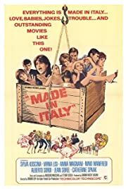 Made in Italy(1965) Poster - Movie Forum, Cast, Reviews