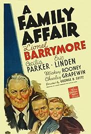 A Family Affair(1937) Poster - Movie Forum, Cast, Reviews