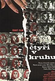 Ctyri v kruhu Poster