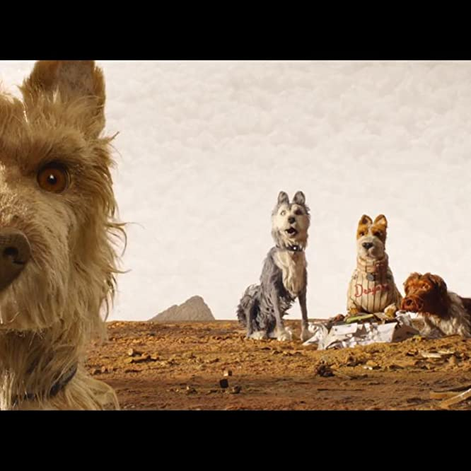Jeff Goldblum, Bill Murray, Bob Balaban, Edward Norton y Bryan Cranston en Isle of Dogs (2018)