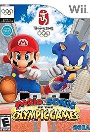 Mario & Sonikku at Pekin Orinpikku Poster