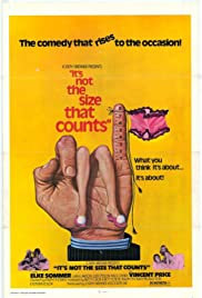 It's Not the Size That Counts (1974) Poster - Movie Forum, Cast, Reviews