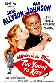 Too Young to Kiss (1951) Poster - Movie Forum, Cast, Reviews