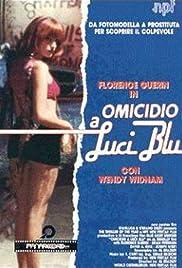 Omicidio a luci blu Poster