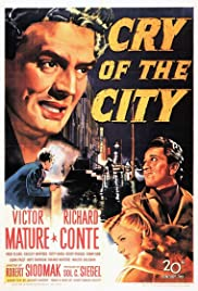 Cry of the City (1948) Poster - Movie Forum, Cast, Reviews