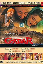 Gadar: Ek Prem Katha (2001) Poster - Movie Forum, Cast, Reviews
