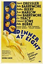 Dinner at Eight (1933) Poster