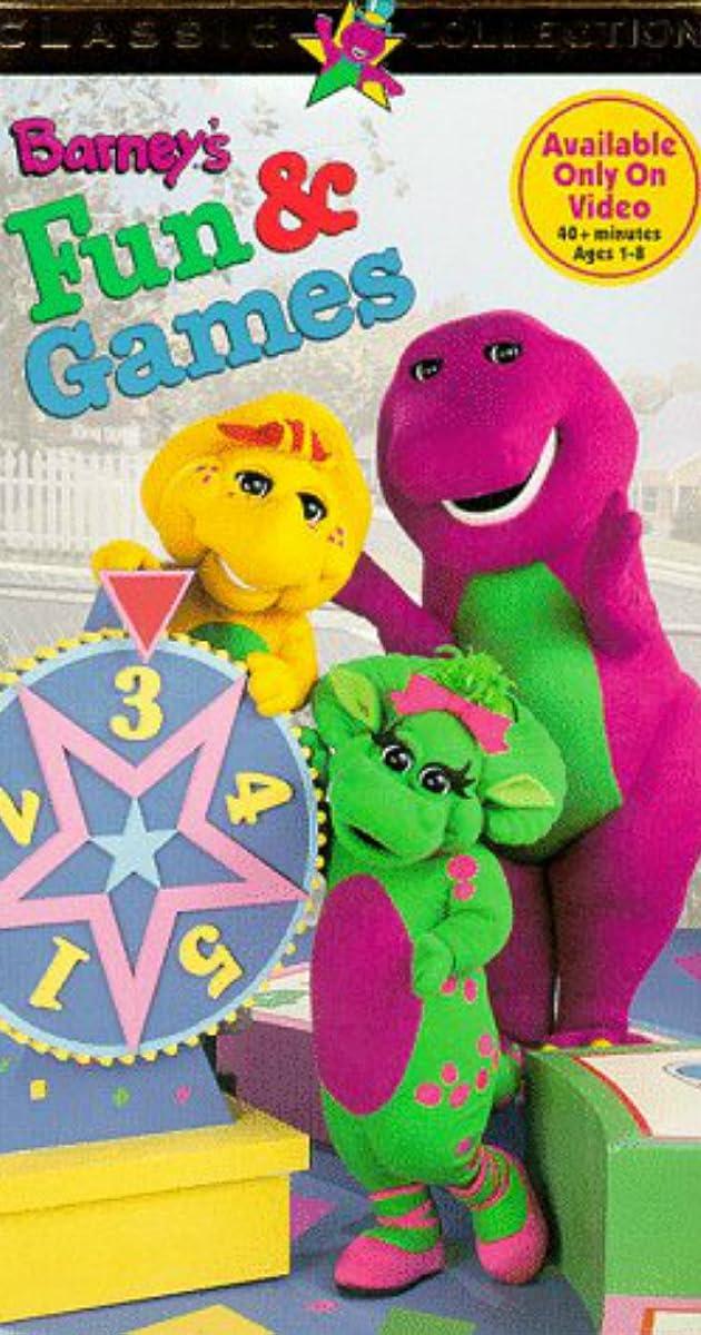 barneys fun  games 1996