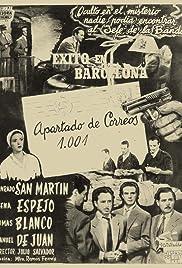 Apartado de correos 1001 Poster
