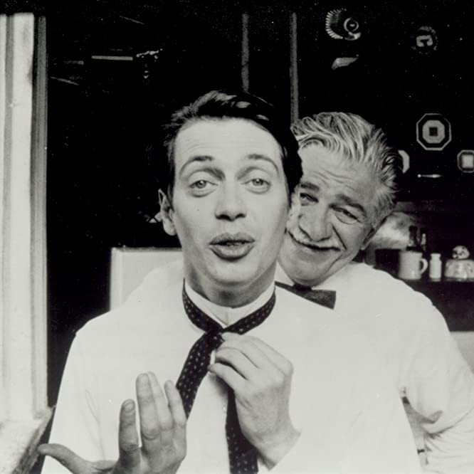 Steve Buscemi and Seymour Cassel in In the Soup (1992)