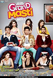 Grand Masti (2013) Poster - Movie Forum, Cast, Reviews