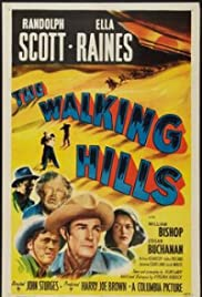 The Walking Hills Poster