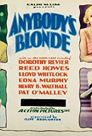 Anybody's Blonde Poster