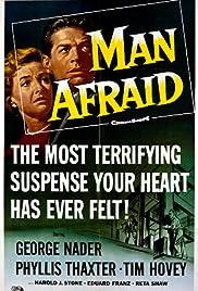 Man Afraid Poster