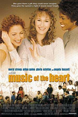 Music of the Heart Poster