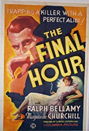 The Final Hour Poster
