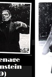 The Teenage Frankenstein Poster
