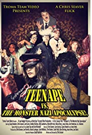 Teenape Vs. The Monster Nazi Apocalypse Poster