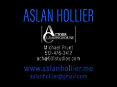 Aslan Hollier Acting Reel 2018