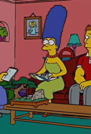 Homer and Marge Turn a Couple Play Poster