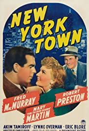 New York Town Poster