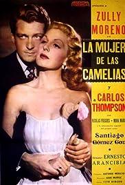 La mujer de las camelias Poster