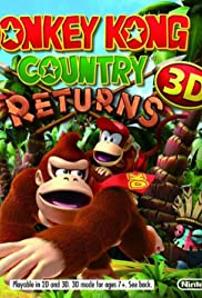 Donkey Kong Country Returns 3D Poster
