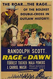 Rage at Dawn(1955) Poster - Movie Forum, Cast, Reviews