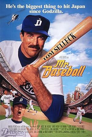 Mr. Baseball poster