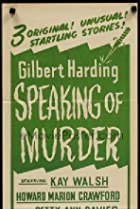 Image of Gilbert Harding Speaking of Murder