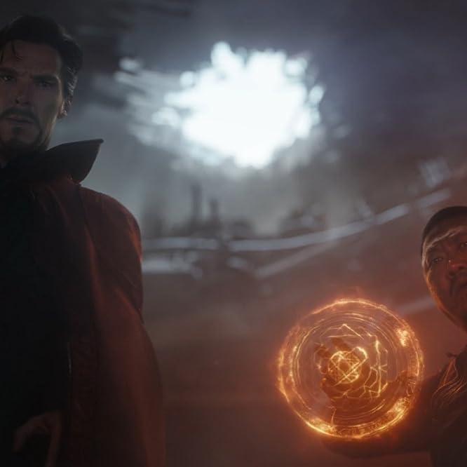 Benedict Wong and Benedict Cumberbatch in Avengers: Infinity War (2018)