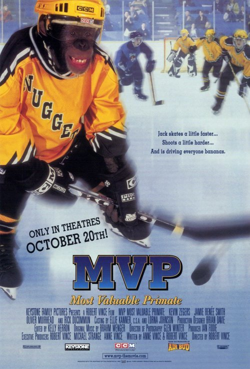 Image result for MVP: MOST VALUABLE PRIMATE (2000)