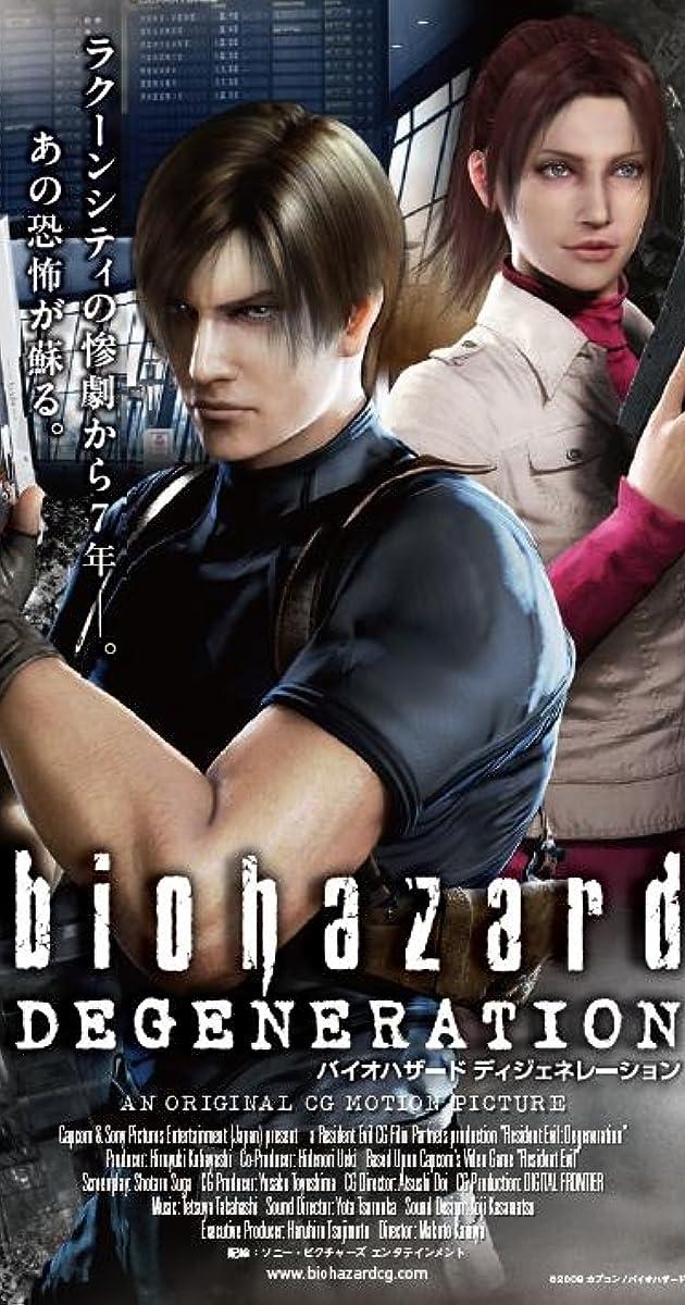 Absoliutus blogis: išsigimimas / Resident Evil: Degeneration (2008) Online