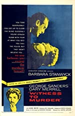 Witness to Murder(1954)