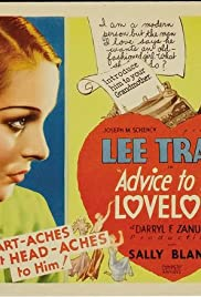 Advice to the Lovelorn Poster