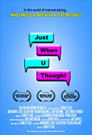 Just When U Thought Poster