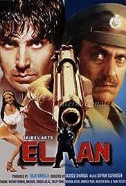 Elaan Poster