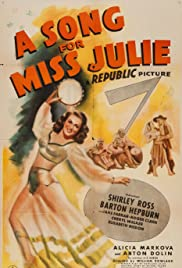 A Song for Miss Julie Poster