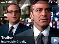 intolerable cruelty imdb videos