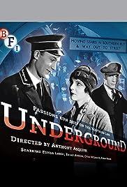 Underground(1928) Poster - Movie Forum, Cast, Reviews