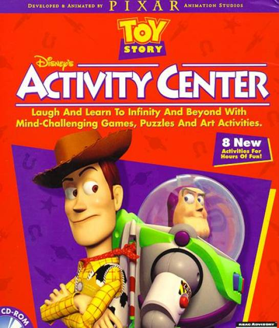 toy story activity center poster - Toy Story Activity Center Download