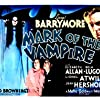 Lionel Barrymore, Elizabeth Allan, and Carroll Borland in Mark of the Vampire (1935)