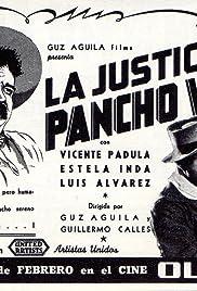 La justicia de Pancho Villa Poster