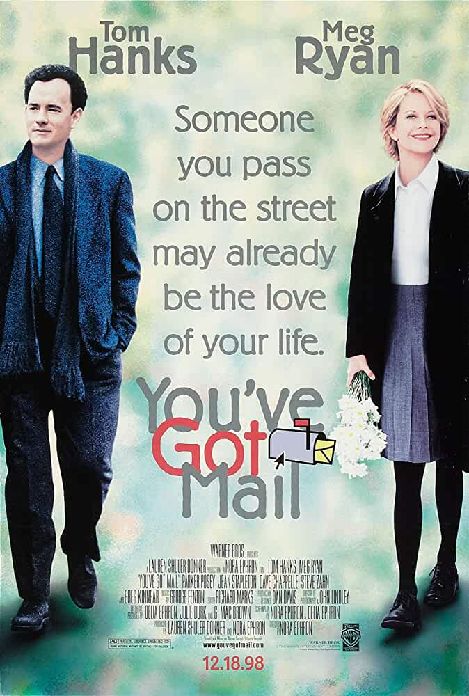 You've Got Mail 1998 Hindi Dual Audio 720p BluRay full movie watch online freee download at movies365.cc
