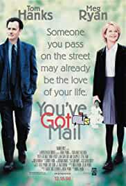 You've Got Mail 1998 BluRay 480p 370MB Dual Audio ( Hindi – English ) ESubs MKV