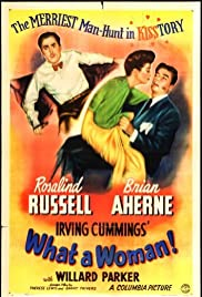 What a Woman (1943) Poster - Movie Forum, Cast, Reviews