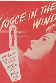 Voice in the Wind(1944) Poster - Movie Forum, Cast, Reviews
